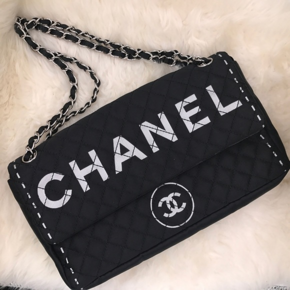 01cdb126170 CHANEL Handbags - Chanel printed cc logos shoulder bag
